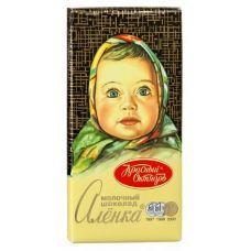"Акция - Шоколад молочный ""Аленка"" 100 г"