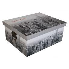 Подарочная коробка из МДФ с металлическими ручками большая