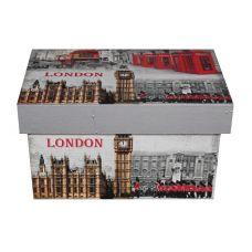 """Подарочная коробка из МДФ малая """"Лондон"""""""