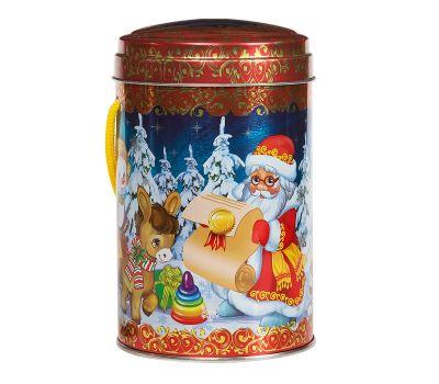 """Новогодняя упаковка  500 г """"Снеговики и Дед Мороз"""""""