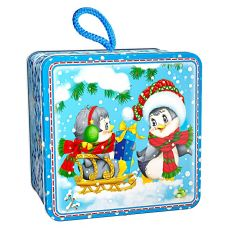 "Новогодняя упаковка  400 г ""Пингвинята"""