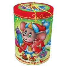 """Новогодняя упаковка  800 г """"Подарки от мышки"""""""