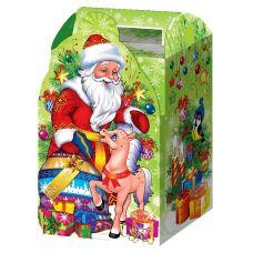 """Новогодняя упаковка 1500 г """"Дед Мороз с жеребенком"""""""