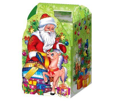 "Новогодний подарок 1200 г ""Дед Мороз с жеребенком"""