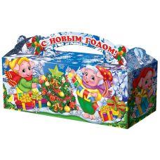 "Новогодняя упаковка  900 г ""Поросята"""