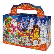 """Новогодний подарок  400 г """"Дед Мороз в санях"""""""