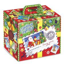 """Новогодний подарок 1200 г """"Посылка от Деда Мороза"""""""