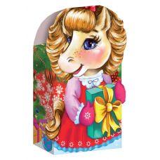 """Новогодняя упаковка из картона """"Лошадка малая"""""""