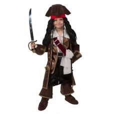 """Костюмы маскарадные для детей """"Капитан Джек Воробей"""""""