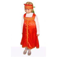 Русский карнавальный костюм для девочек