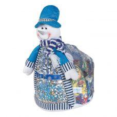 """Новогодняя упаковка 2500 г """"Снеговик в шляпе"""""""