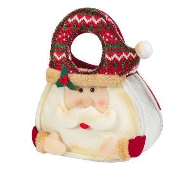 """Новогодний подарок  850 г """"Сумка """"Дед Мороз"""""""