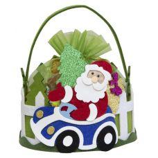 """Новогодний подарок  500 г """"Дед Мороз в автомобиле"""""""