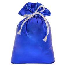 "Новогодний подарок  850 г ""Мешочек из парчи синий"""