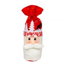 """Новогодняя упаковка  700 г """"Мешочек """"Дед Мороз"""""""