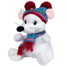 """Новогодний подарок  400 г """"Мышка в лыжной шапочке"""""""