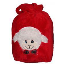 Акция - Новогодняя упаковка - мешочек с овечкой в ассортименте