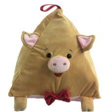 """Новогодний подарок 2000 г """"Свинка-пирамидка"""""""