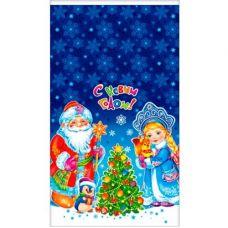 """Новогодний подарок  850 г """"Пакет металлизированный """"Новогодние чудеса"""""""