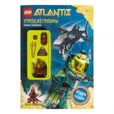 """Сувенир Книга с заданиями Lego Atlantis """"Угроза из глубины"""""""