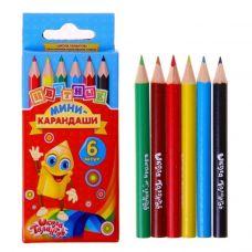 """Набор цветных мини-карандашей """"Школа Талантов"""" в картонной коробке"""