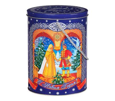 """Новогодний подарок 1000 г """"Овал большой """"Новогодняя сказка"""""""