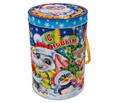 """Новогодняя упаковка  300 г """"Зимний зоопарк"""""""