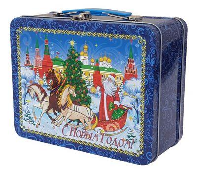 """Новогодний подарок  850 г """"Чемоданчик средний """"Кремль"""""""
