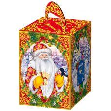 """Новогодняя упаковка  600 г """"Дед Мороз с письмом """""""
