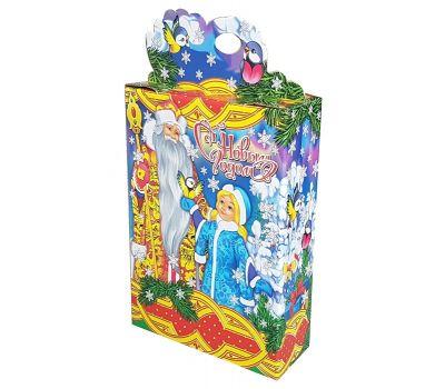 """Новогодняя упаковка 1500 г """"Дед Мороз и северное сияние"""""""
