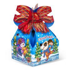 """Новогодняя упаковка 1000 г """"Мешок с бантом """"Чудеса в Новый год"""""""