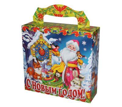 """Новогодний подарок  500 г """"Часы в лесу"""""""