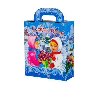 """Новогодняя упаковка 1100 г """"С Рождеством"""""""
