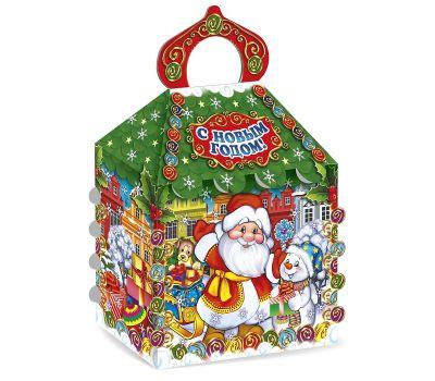 """Новогодняя упаковка 1500 г """"Терем Деда Мороза"""""""