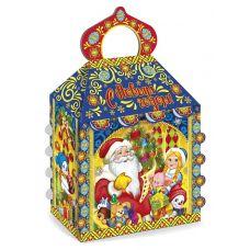 """Новогодний подарок 1200 г """"Терем """"Дед Мороз и Снегурочка"""""""