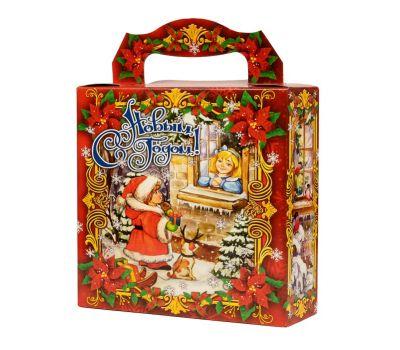 """Новогодняя упаковка  700 г """"Подарок"""""""