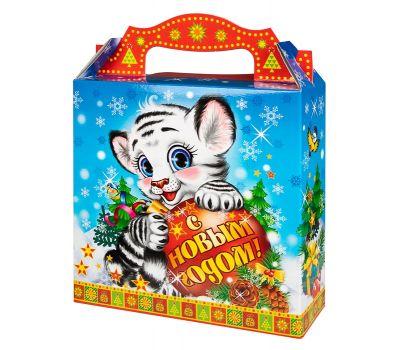 """Новогодняя упаковка  700 г """"Белый тигренок"""""""