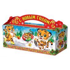 """Новогодняя упаковка  900 г """"Веселые тигрята"""""""