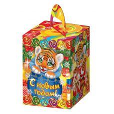"""Новогодняя упаковка  400 г """"Тигрята"""""""
