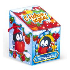 """Новогодний подарок  700 г """"Скворечник """"Зимняя птиццерия"""""""