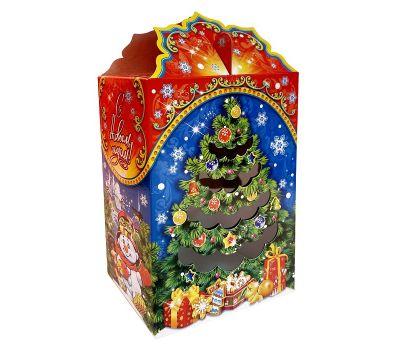 """Новогодняя упаковка 1000 г """"Подарок Деда Мороза - новогодние сладости"""""""