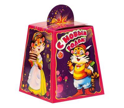 """Новогодняя упаковка  400 г """"Маленький сюрприз - Тигриная семейка"""""""