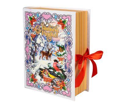 """Новогодний подарок 1200 г """"Книга """"Зимний лес"""" большая"""""""