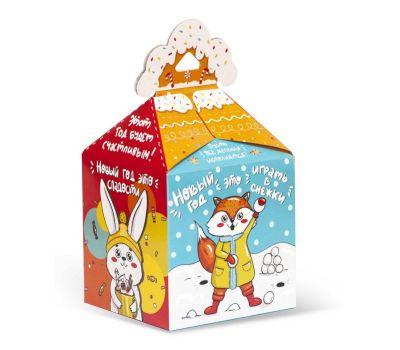 """Новогодняя упаковка  700 г """"Ларчик с пожеланиями"""""""