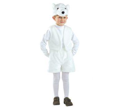 """Костюмы маскарадные детские """"Белый медведь"""""""