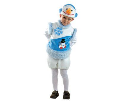"""Новогодние костюмы для детей """"Снеговик снежный"""""""