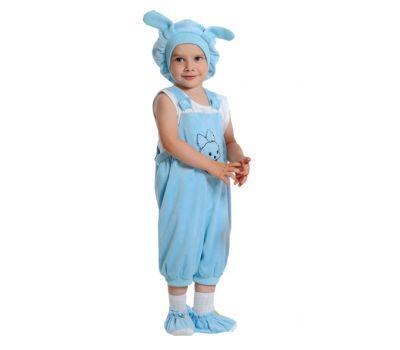"""Детский маскарадный костюм """"Кролик"""" (светло-синий)"""