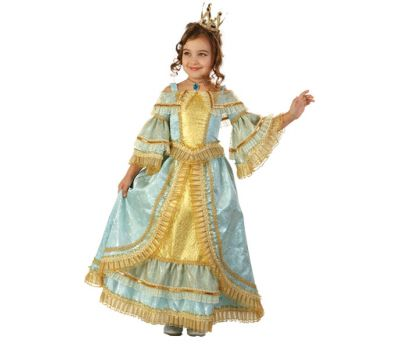 """Детские маскарадные костюмы для подростков """"Принцесса Анна"""""""