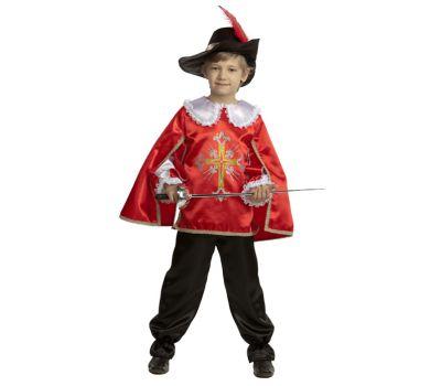 """Детские маскарадные костюмы """"Мушкетер"""" красный"""