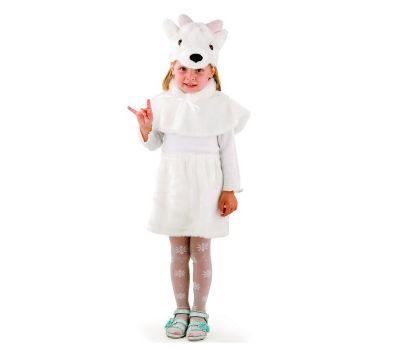"""Маскарадные костюмы для детей """"Козочка белая"""""""
